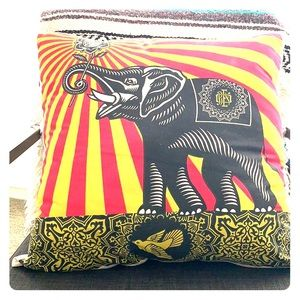 Obey Elephant Pillow